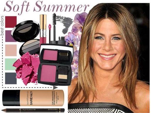 Мягкое лето-макияж