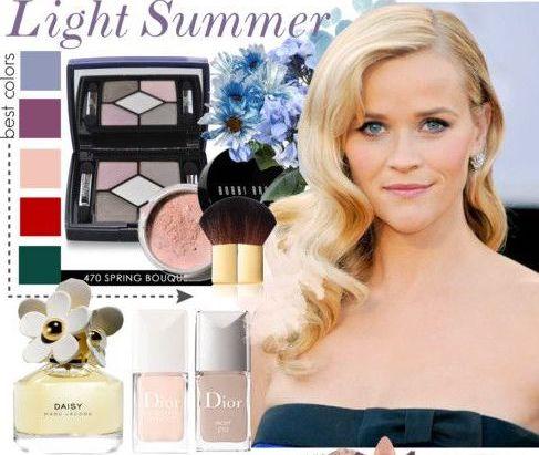 Светлое Лето - макияж