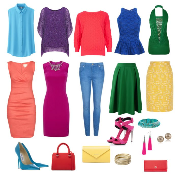 Яркая весна одежда