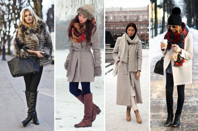 Как одеться на первое свидание зимой