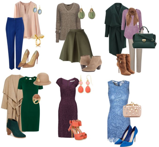 мягкая осень одежда