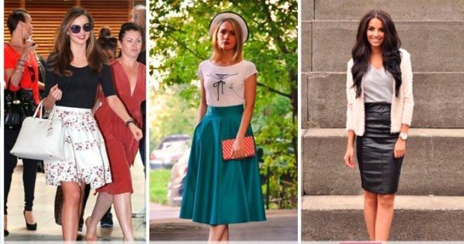Базовый гардероб на весну - юбки
