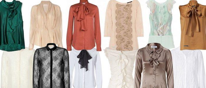 Базовый гардероб на лето - блузки