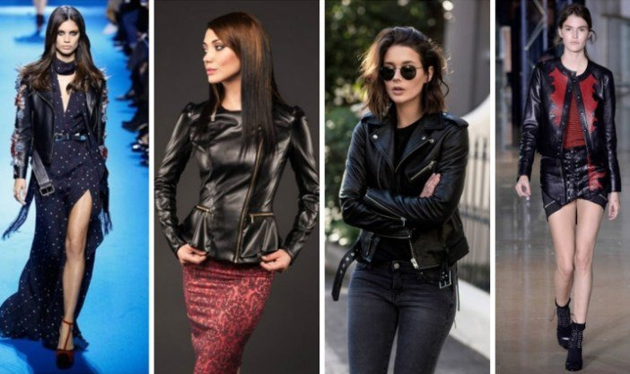 кожаные куртки
