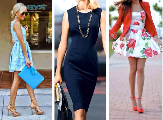Базовый гардероб на лето - платья