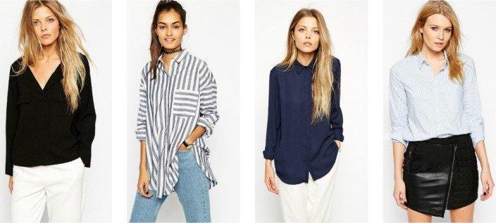 Базовый гардероб на лето - рубашки