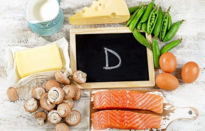 еда с витамином Д