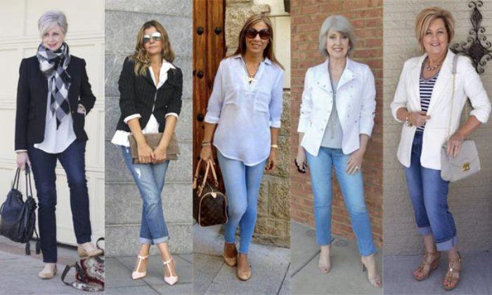 Как одеваться после 40