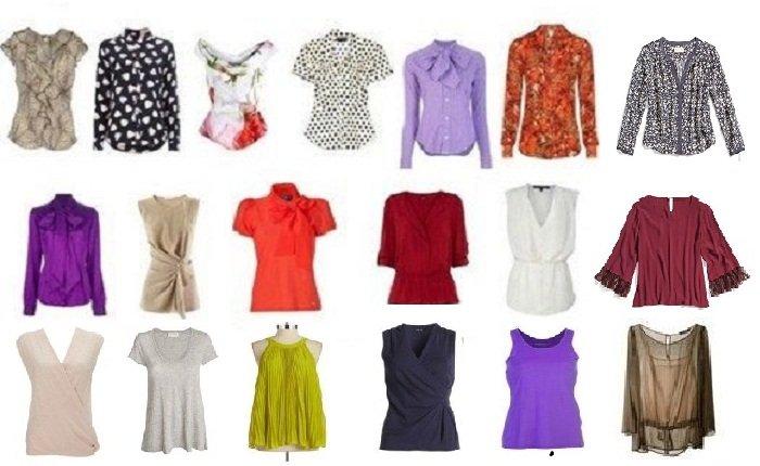 Топы блузки и кофты